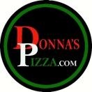 Donna's Pizza Menu