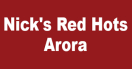 Nick's Red Hots Menu