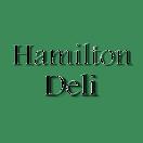 Hamilton Deli Menu