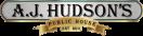 A.J. Hudson's Public House Menu
