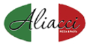 Aliacci Pizza and Pasta Menu
