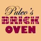 Puleos Brick Oven Menu