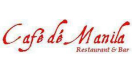 Cafe de Manila Restaurant & Bar Menu