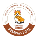 Rosaria's Pizza Menu