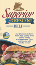 Superior Crescent Deli Menu
