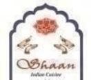 Shaan Indian Cuisine Menu