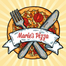 Marie's Pizza Menu