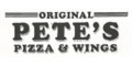 Original Pete's Pizza and Wings Menu