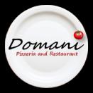 Domani Pizzeria & Restaurant Menu