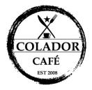 Colador Cafe Menu