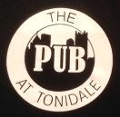 The Pub at Tonidale Menu