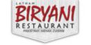 Latham Biryani Restaurant Menu