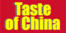 Taste of China Menu