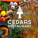 Cedars Restaurant Menu