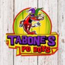 Tabone's Po' Boys Menu