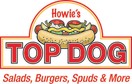 Howie's Top Dog Menu