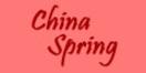 China Spring Menu