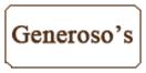 Generoso's Bakery Menu