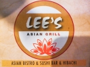 Lee Asian (Formally known as Sapporo) Menu