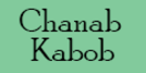 Chanab Kabob Menu