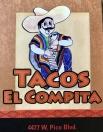 Tacos El Compita Menu