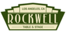 Rockwell Table and Stage Menu