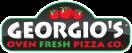 Georgio's Fresh Oven Pizza Menu