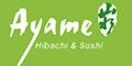Ayame Hibachi & Sushi Menu