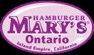 Hamburger Mary's Menu