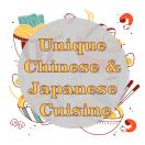 Unique Chinese & Japanese Cuisine Menu