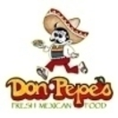 Don Pepe's Fresh Mexican Food Menu