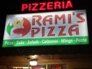 Rami's Pizza Menu