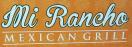 Mi Rancho Mexican Grill Menu