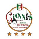 Gianni Pizza Menu