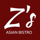 Z's Asian Bistro Menu
