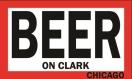 BEER on Clark Menu