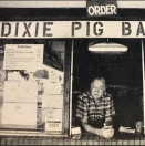 Dixie Pig Barbeque Menu