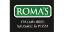 Roma's Italian Beef, Sausage, & Pizza Menu