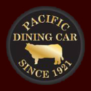 Pacific Dining Car Menu