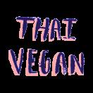 Thai Vegan Menu