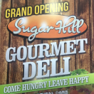 Sugar Hill Gourmet Deli Menu