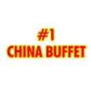 #1 China Buffet Menu