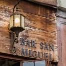 Bar San Miguel Menu