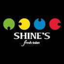 Shine's Fresh Asian Menu