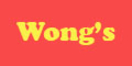 Wong's Chinese Restaurant Menu