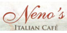 Neno's Italian Cafe Menu
