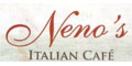 Neno's Italian Cafe Menu
