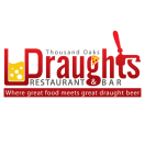 Draughts Restaurant and Bar Menu