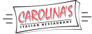 Carolina's Italian Restaurant Menu