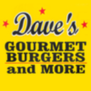 Dave's Gourmet Burgers and More Menu